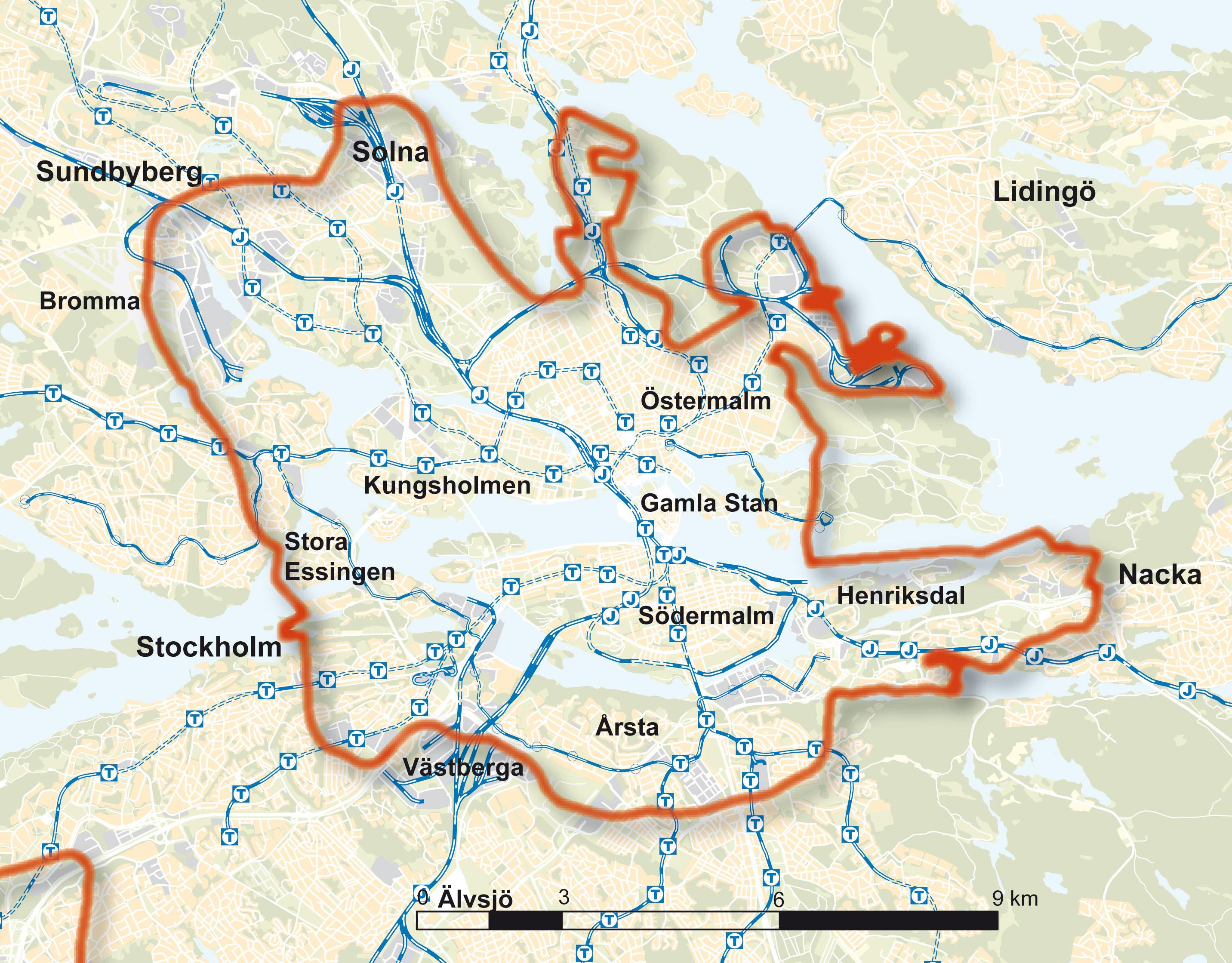 Karta stockholm innerstad
